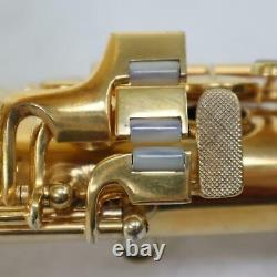 Conn Chu Berry Gold Plated Alto Saxophone SN 203031 CUSTOM ENGRAVING REPAD