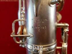 Conn New Wonder Chu Berry Alto Saxophone Circa 1925