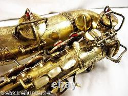 Conn New Wonder Virtuoso Deluxe Alto Saxophone Gold Plated For Restoration
