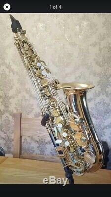 Earlham Alto Saxophone Professional series 2 With Case And Extras