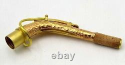 Eastern music hand hammered copper alto saxophone neck SBA NECK 24.5mm