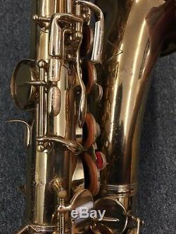 Frank Holton Signature Alto Saxophone-Elkhorn