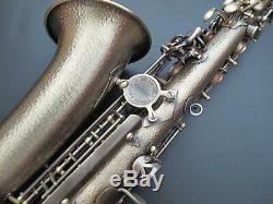 HANDMADE BODY NEW Professional Eb Alto Saxophone Germany Brass-Antique Brass