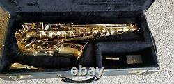 Henri Selmer Mark VII Alto Saxophone, Good Condition