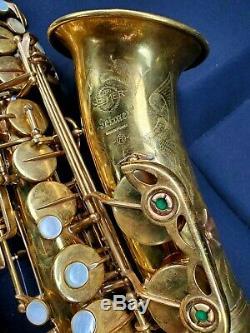 Henri Selmer Paris Mark VI alto saxophone unlacquered legendary professional Mk6