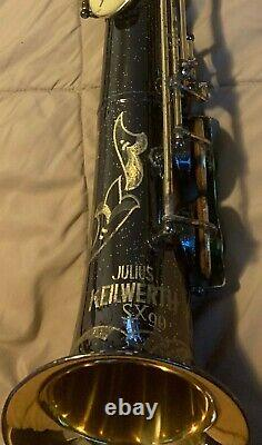 JULIUS KEILWERTH SX90 Straight Alto Saxophone Serial Number 99481, with orig case