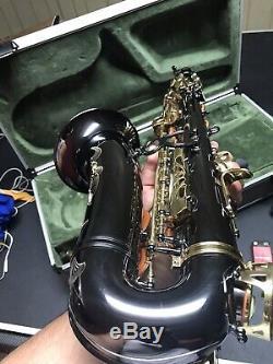 Julius Keilwerth SX90 Alto Saxophone Black nickel / Gold lacquer