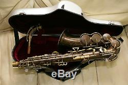KING ZEPHYR alto saxophone- Vintage in excellent shape! NEW PADS
