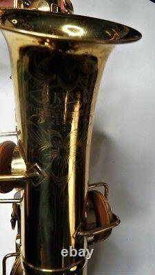 King H. N. White Alto Saxophone #112694