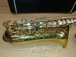 King Super 20 Alto Saxophone (Silver Neck!) with Case