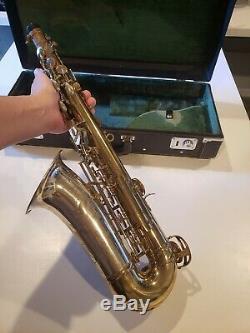 King Super 20 Silver Sonic Alto Saxophone