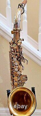 King Super 20 Silversonic Super 20 alto saxophone Fresh Repad
