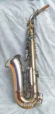 King Super 20 Silversonic alto saxophone