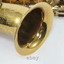 King Zephyr Professional Alto Saxophone SN 179439 EARLY MODEL! EXCELLENT