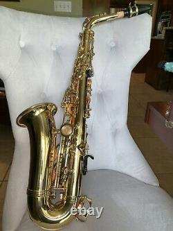 L. A. Sax Alto Saxophone. Perfect Condition. Case And Cleaner Included