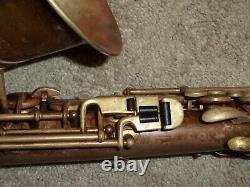 Late/Transitional Buescher True Tone Alto Sax/Saxophone, 1930, Plays Great