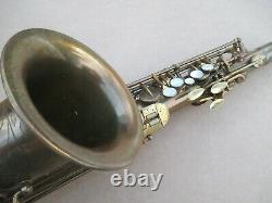 MARTIN COMMITTEE III ALTO SAXOPHONE PLAYS WELL ORGL LACQUER With PERIOD CASE