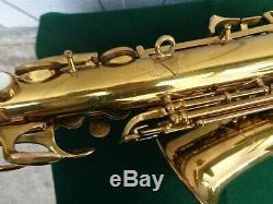MINTY 1945 Buescher Big B alto saxophone RARE