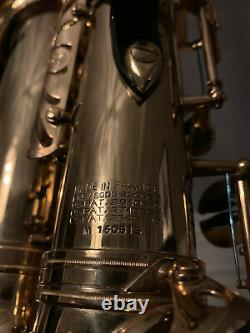 MINTY 1967 Selmer Paris Mark VI Alto Saxophone 150615 ORIGINAL LACQUER SANBORN