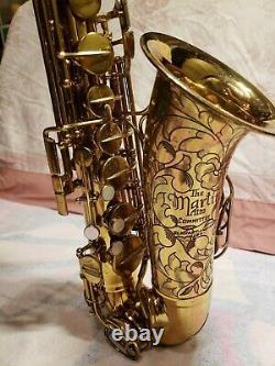 Martin Committee III Alto Saxophone The Martin AMAZING ENGRAVING! PRICE DROP