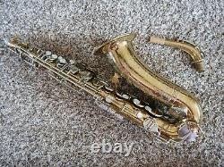 Martin Handcraft Committee II Alto Saxophone Plays Great-Just Serviced