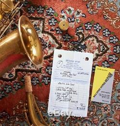 Martin Handcraft Troubadour Alto Saxophone, Recently Serviced, Reunion Blues