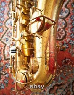 Martin Handcraft Troubadour Alto Saxophone, Reunion Blues Gig Bag
