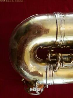 Much-played French Couesnon Professional Alto Saxophone Circa 1950's