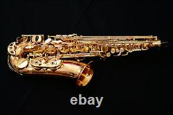New 2021 Yanagisawa A-WO20 (AWO20) Unlacquered Bronze Alto Saxophone BrassBarn