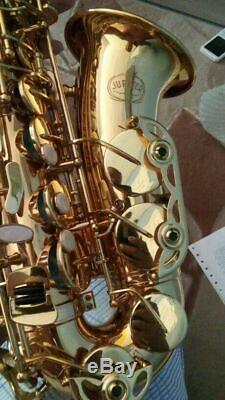 New JUPITER JAS-769 Alto Saxophone EbTune Gold Lacquer Sax With Case UPS Express
