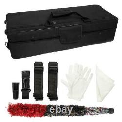 New Professional High Quality Alto Saxophone Golden Sax with Case Kit