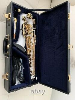 New Yamaha 50th Anniversary YAS-875EX White Lacquer Alto Saxophone Limited Ed