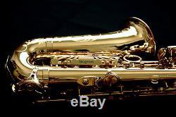 New Yanagisawa AWO10 (A-WO10) Elite Professional Series Alto Saxophone