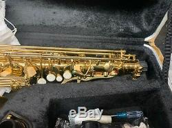 OPUS USA Professional Gold Alto Saxophone