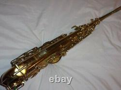 Original Buescher Big B True Tone Aristocrat Alto Saxophone, 1945, Nice