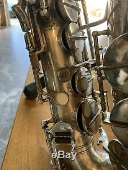 Original Vintage Kohlert VKS Graslitz Professional Alto Saxophone & Case Antique