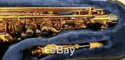 P. Mauriat PMXA-67RXCL Professional Alto Saxophone Cognac Lacquer