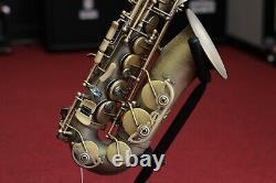 P. Mauriat Professional Alto Saxophone, Rolled Tone Holes Dark Finish
