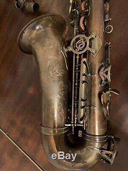 P Mauriat Unlauqered Alto Saxophone