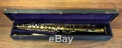 Pre-Owned BUESCHER STRAIGHT Alto Saxophone Repadded PERFECT Ships FREE