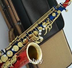 Prof individuati Alto Saxophone Eb Sax hand engraved bell With Case