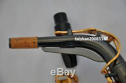Professional Black Nickel Taishan Eb Alto saxophone high F# Germany mouthpiece