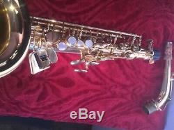 Professional Buffet Crampon Paris Julius Keilwerth Sx-90 Stencil Alto Saxophone