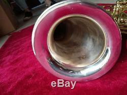 Professional Eb Alto sax Real silver body Saxophone Good material good sound