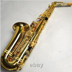 Professional JUPITER JAS-769 Alto Eb Tune Saxophone Gold Lacquer Sax With Case