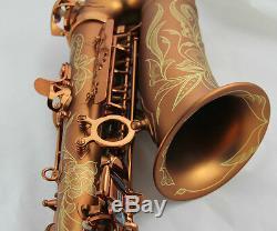 Professional Newest Matt Coffee Alto Saxophone Sax High F# Abalone Shell Key