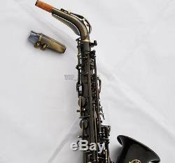 Professional TaiShan 5000 Model Antique Alto Sax Eb Saxophone Germany Mouthpiece