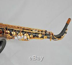 Professional Taishan 875 Alto Saxophone Black nickel Gold sax German Mouthpiece