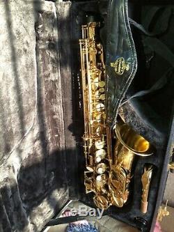Professional grade Buffet Crampon Alto Saxophone A Paris with hard case