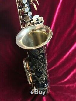 RARE! 1985 Selmer Super Action 80 Serie I Alto Saxophone! Black Lacquer! VIDEO